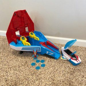 Paw Patrol Mighty Jet Command Center Plus Ryder